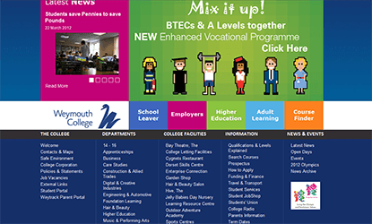 Weymouth College Homepage